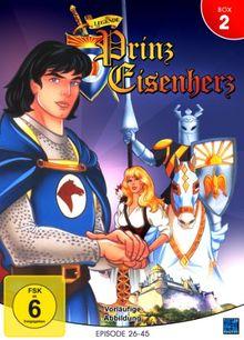 Die Legende von Prinz Eisenherz - Volume 2: Folge 26-45 [4 DVDs]
