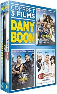 Coffret dany boon 3 films : la ch'tite famille ; raid dingue ; supercondriaque [FR Import]