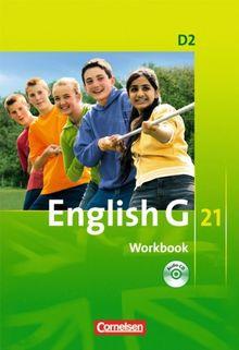 English G 21 - Ausgabe D: Band 2: 6. Schuljahr - Workbook mit CD