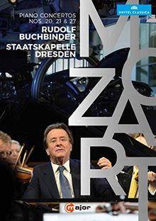 Mozart: Klavierkonzerte 20, 21 & 27 [DVD]