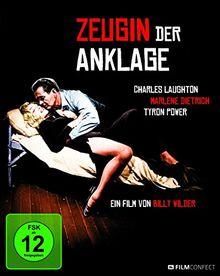 Zeugin der Anklage (Limited Digipack) [Blu-ray]
