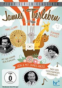 James Tierleben - 3 Folgen der beliebten Unterhaltungssendung von und mit James Krüss und Hans Clarin (Pidax Serien-Klassiker)