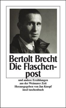 Die Flaschenpost und andere Geschichten aus der Weimarer Zeit (insel taschenbuch)