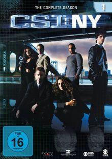 CSI: NY - Die komplette Season 1 [6 DVDs]