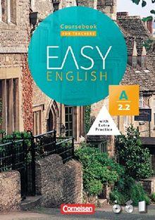 Easy English: A2: Band 2 - Kursbuch - Kursleiterfassung: Mit Audio-CD, Phrasebook, Aussprachetrainer und Video-DVD