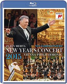 Zubin Mehta & Wiener Philharmoniker - Neujahrskonzert 2015 [Blu-ray]