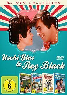 Uschi Glas & Roy Black - 4DVD-Collection (Immer Ärger mit den Paukern / Wenn mein Schätzchen auf die Pauke haut / Hilfe, ich liebe Zwillinge / Wer zuletzt lacht, lacht am bebsten)