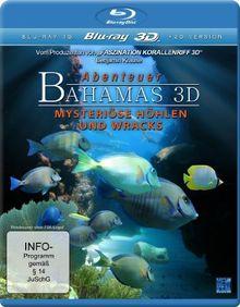 Abenteuer Bahamas 3D - Mysteriöse Höhlen und Wracks (inkl. 2D Version) [3D Blu-ray]