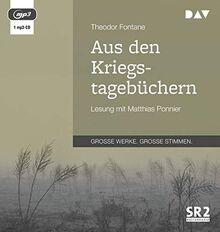 Aus den Kriegstagebüchern: Lesung mit Matthias Ponnier (1 mp3-CD)