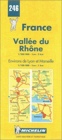 Michelin Karten, Bl.524 : Rhonetal (Michelin Maps)
