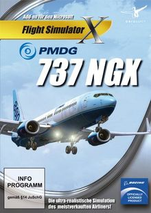 Flight Simulator X - PMDG 737 NGX (Add - On) - [PC]