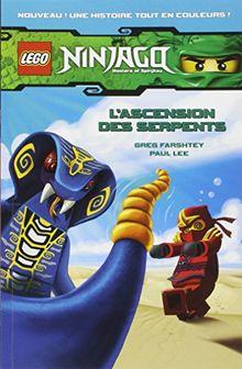 Lego Ninjago : masters of Spinjitzu, Tome 1 : L'ascension des serpents