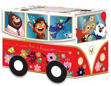 Le bus à histoires - coffret avec 6 livres (Un petit livre d'or)