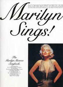 Marilyn Sings. Songbuch