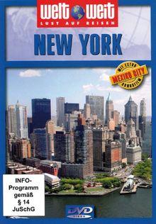 """New York mit Bonusfilm """"Mexiko City"""" / Reihe: welt weit (1 DVD, Länge: ca. 80 Min.)"""