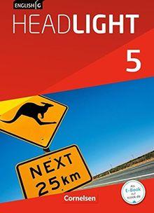English G Headlight - Allgemeine Ausgabe: Band 5: 9. Schuljahr - Schülerbuch: Festeinband