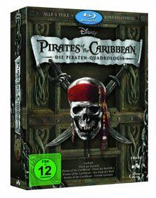 Pirates of the Caribbean - Die Piraten-Quadrologie (8 Blu-Rays) [Blu-ray]