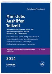 Mini-Jobs, Aushilfen, Teilzeit 2014