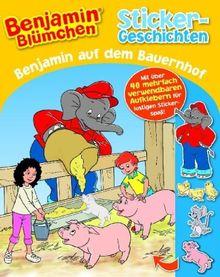 Benjamin Blümchen auf dem Bauernhof: Sticker-Geschichten