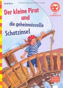 Der kleine Pirat und die geheimnisvolle Schatzinsel: Der Bücherbär: Mein Lese-Bilderbuch