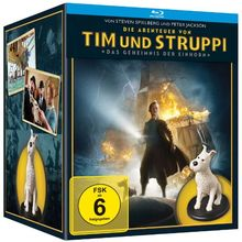 Die Abenteuer von Tim & Struppi - Das Geheimnis der Einhorn (Limited Fine Art Collectible Boxset, Steel-Book, exklusiv bei Amazon) [Blu-ray]