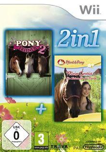 Pony Friends & Mein Gestüt [Software Pyramide] - [Nintendo Wii]
