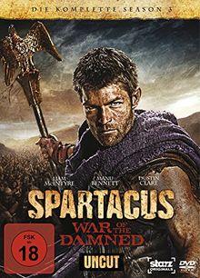 Spartacus: War of the Damned - Die komplette Season 3 - Uncut [4 DVDs]
