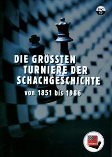 Die größten Turniere der Schachgeschichte von 1851 bis 1986, ChessBase CD-ROM