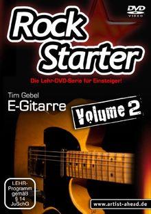 Rockstarter Vol.2 - E-Gitarre - Der zweite Teil der Lehr-DVD-Serie für Einsteiger! [HD DVD]