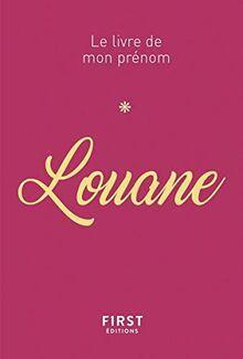 Louane - Le livre de mon prénom