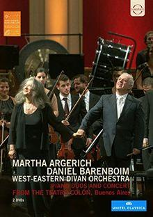 Martha Argerich und Daniel Barenboim im Teatro Colón [2 DVDs]