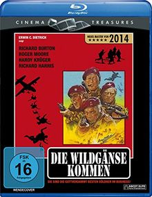 Die Wildgänse kommen (Cinema Treasures) [Blu-ray]