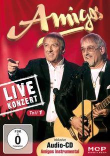 Amigos Live in Konzert [DVD + Audio CD]