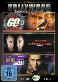 Made in Hollywood: Nur noch 60 Sekunden / Face/Off-Im Körper des Feindes / Spiel auf Zeit [3 DVDs]