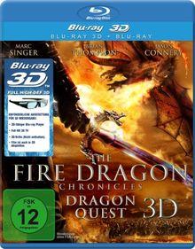 The Fire Dragon Chronicles - Dragon Quest (3D Version inkl. 2D Version & 3D Lenticular Card)[3D Blu-ray]