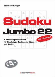 Sudokujumbo 22: 5 Schwierigkeitsstufen - für Einsteiger, Fortgeschrittene und Profis