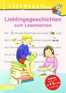 Lesemaus zum Lesenlernen Sammelbände, Band 8: Lieblingsgeschichten zum Lesenlernen: Sammelband