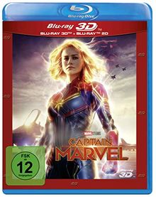 Captain Marvel [3D Blu-ray]