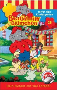 Benjamin Bluemchen - Folge 28: rettet den Kindergarten [Musikkassette] [Musikkassette]