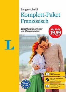 Langenscheidt Komplett-Paket Französisch: Sprachkurs für Einsteiger und Fortgeschrittene