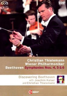 BEETHOVEN Sinfonien 4, 5 & 6 Christian THIELEMANN (+ 170 min. Doku mit Joachim Kaiser) 3 DVD