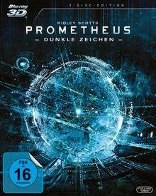 Prometheus - Dunkle Zeichen (+ Blu-ray) (+ Bonus Blu-ray) [3D Blu-ray]