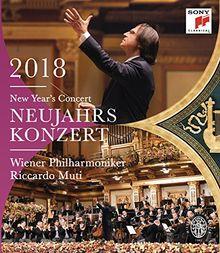 Neujahrskonzert 2018 / New Year's Concert 2018 [Blu-ray]
