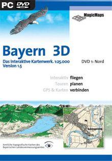 Bayern 3D Version 1.5, Nord (DVD-ROM)