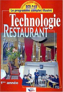 Technologie restaurant : 1ère année