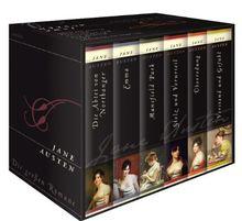 Jane Austen - Die großen Romane (6 Bände) Stolz und Vorurteil, Emma, Verstand und Gefühl, Überredung, Mansfield Park, Die Abtei von Northanger