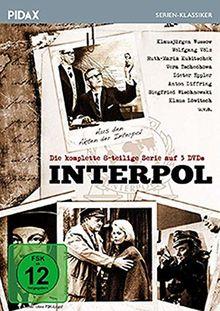 Interpol / Die komplette Serie mit 8 spannenden Kriminalfällen aus den Akten der Interpol mit absoluter Starbesetzung (Pidax Serien-Klassiker) [3 DVDs]