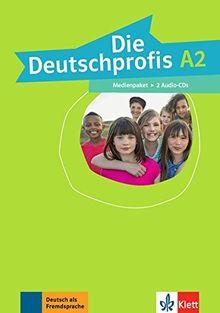 Die Deutschprofis A2: Medienpaket (2 Audio-CDs)
