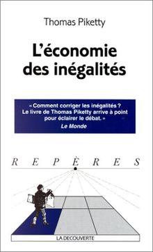 L'économie des inégalités (Repères)