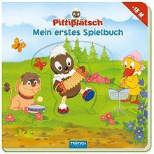 """Mein erstes Spielbuch """"Pittiplatsch"""" ab 18 Monaten: Mit Schiebe- und Spielelementen"""
